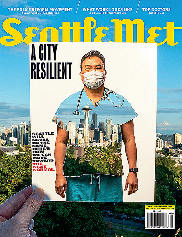 Thomas Lamperti, MD Seattle Met magazine Top Doc 2020 cover